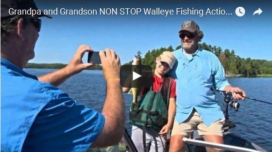Ontario Walleyes with Cayden